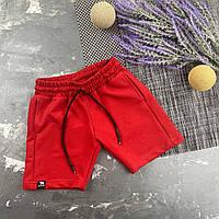 Стильные детские спортивные шорты BEWARM Красный