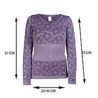 (SLaD), Женское термобелье Фиолетовое, зимнее термобельё для женщин для повседневной носки, Мужская и Женская