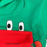 Комплект футболка, шорты зелёный интерлок Babydadoss Турция 74 (р), фото 3