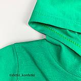 Комплект футболка, шорты зелёный интерлок Babydadoss Турция 74 (р), фото 4