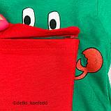 Комплект футболка, шорты зелёный интерлок Babydadoss Турция 74 (р), фото 5