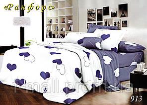 Двуспальное постельное белье Тет-А-Тет (Украина)  ранфорс (913)