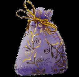 Мішечок для біжутерії 9х6 фіолетовий