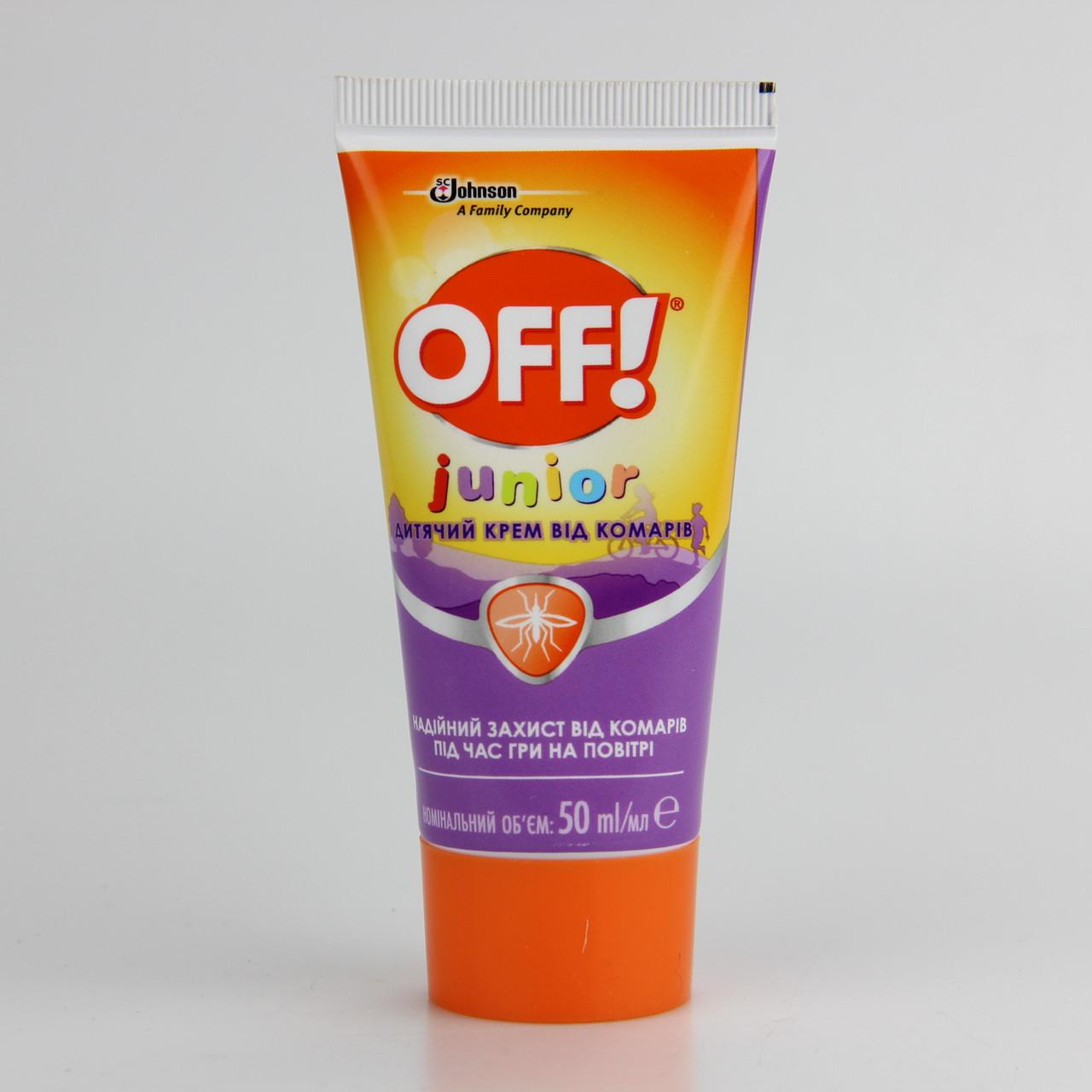 Крем от комаров для детей OFF Junior 50 мл