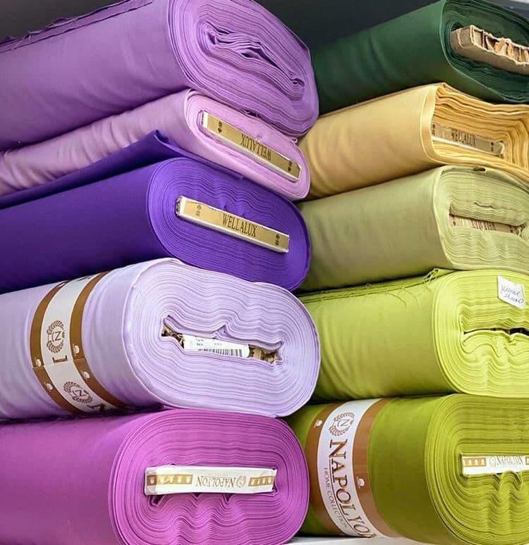 Купить ткань в рулоне сатин оверсайз что это такое в одежде