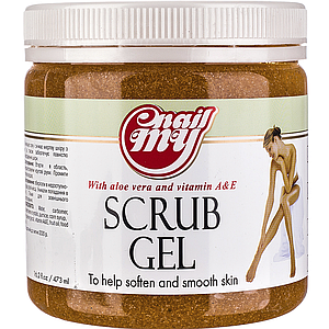 Скраб сахарный My Nail Scrub Gel мандарин, 473 мл