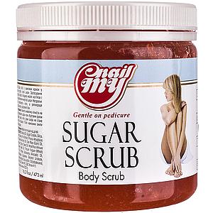 Скраб сахарный My Nail Sugar Scrub гранат, 473 мл