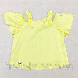 Блуза для девочки (104-122)р короткий рукав лайм Бонни (Suzie)Сьюзи Украина БЛ-82113