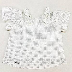 Блуза для девочки (104-122)р короткий рукав молочный Бонни (Suzie)Сьюзи Украина БЛ-82113