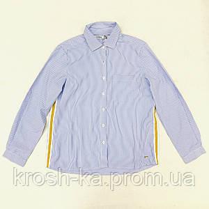 Рубашка для девочки (128,164)р коттон голубой Tiffosi Португалия 10031088_793