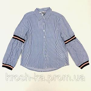 Рубашка для девочки Tiffosi Португалия голубая 10030856_001