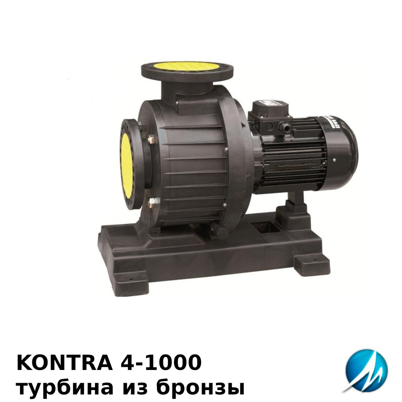 Насос Saci KONTRA 4-1000 (400 В, 126.0 м3/год) без передфільтру, бронзова турбіна