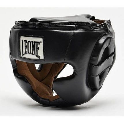 Боксерський шолом Leone Junior Black XS, фото 2