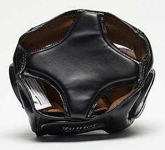 Боксерський шолом Leone Junior Black XS, фото 3