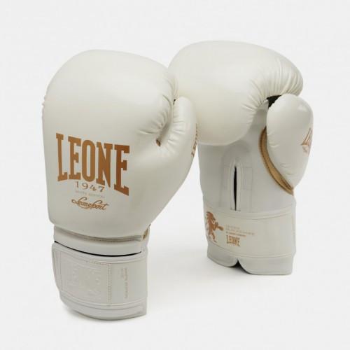 Боксерські рукавички Leone Mono White 10 ун.