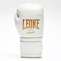 Боксерські рукавички Leone Mono White 10 ун., фото 2