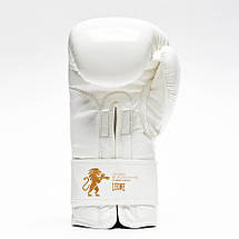 Боксерські рукавички Leone Mono White 10 ун., фото 3