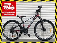 Спортивный детский велосипед Топ Райдер 14 рама 24 дюймов колеса М611 красный