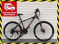Спортивный велосипед Топ Райдер 19 рама 29 дюймов колеса К611 красный