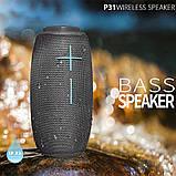 Портативна бездротова Bluetooth колонка HOPESTAR P31, фото 6