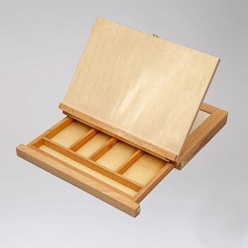 3 в 1 Мольберт-Планшет-Этюдник 34х26 см (А4)