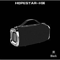Беспроводная стерео блютуз колонка с микрофоном и радио hopestar H36