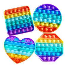 Игрушка Антистресс Pop It Разноцветная Поп Ит.