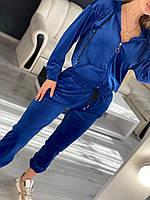 Жіночий велюровий костюм, фото 1