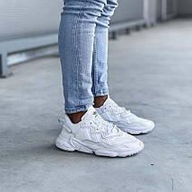 Мужские кроссовки Adidas Ozweego рефлективные, кроссовки адидас озвиго, фото 3