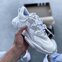 Мужские кроссовки Adidas Ozweego рефлективные, кроссовки адидас озвиго, фото 2