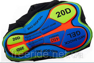 Велотрусы Fualrny с 3D памперсом 2.3см (XXL), фото 2