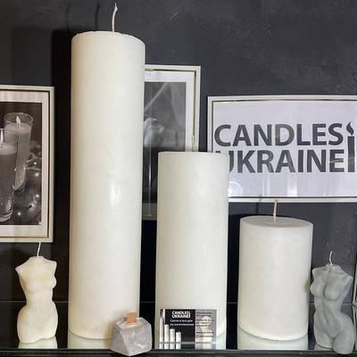 Напольные свечи, большие свечи, каминные свечи, магические свечи