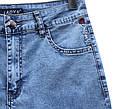 Женские джинсовые капри Lady N с вышивкой большие размеры, фото 3