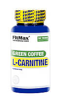 Жиросжигатель FitMax Green Coffee L-Carnitine, 90 капсул СРОК 11.21