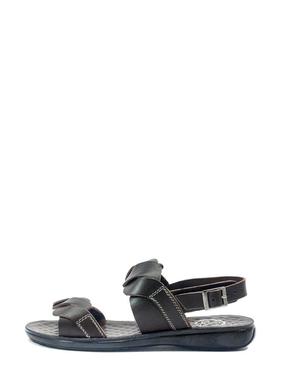 Сандалии женские TiBet 38 темно-коричневые (36)