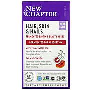Комплекс для Оздоровления Волос, Кожи и Ногтей, New Chapter, 60 гелевых капсул
