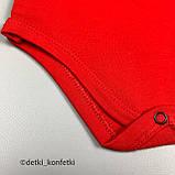Комплект боди, шорты красный Интерлок Murat baby Турция 74 (р) 92, фото 2