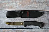 Нож для рыбалки разделочный Окунь, с тканевым чехлом в комплекте