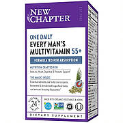 Ежедневные Мультивитамины для Мужчин 55+, Every Man's One Daily, New Chapter, 24 таблеток