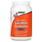 Гранулы Лецитина, Now Foods, 2 Фунта (907 Гр)