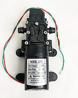 Насос для електричного обприскувача з датчиком тиску 2203 (12v). 3.1 л/хв. Для систем крапельного поливу та зрошення.