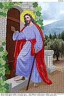 """Схема для частичной вышивки бисером """"Иисус стучит в дверь"""""""