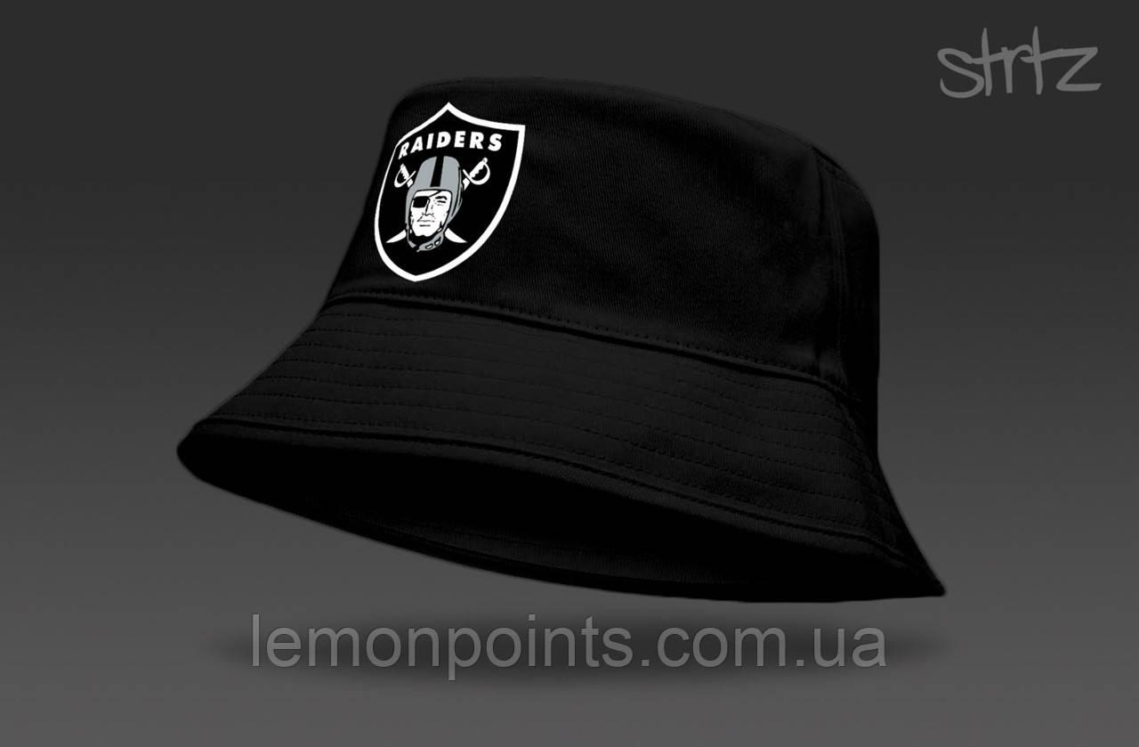 Панамка Raiders  летняя хлопковая  черная
