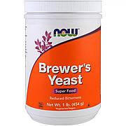 Пивные Дрожжи в Порошке, Brewer's Yeast, Now Food, 454гр,