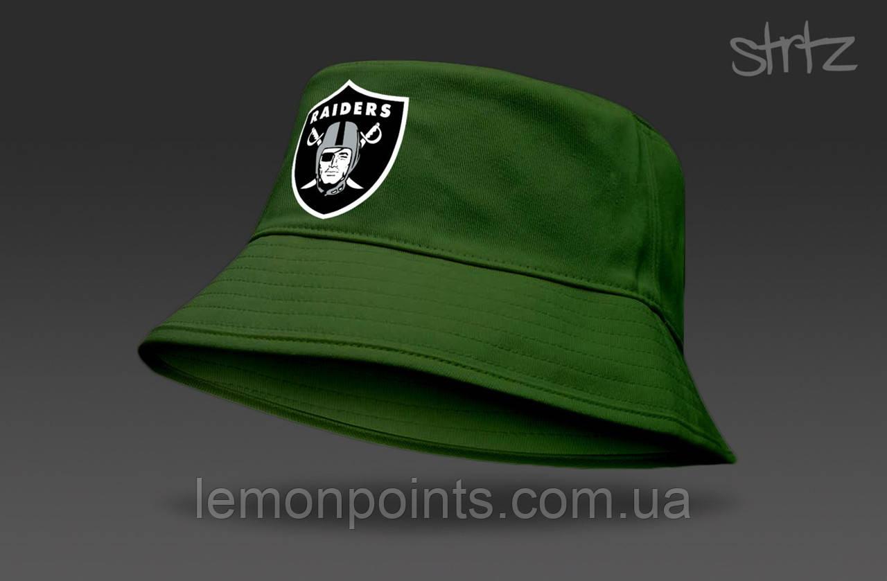 Панамка Raiders  летняя хлопковая  зелёная