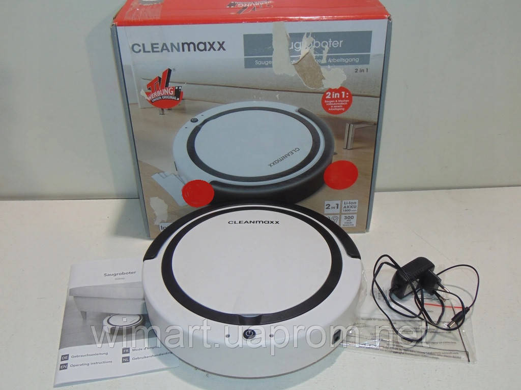 Робот - пылесос CLEANMAXX HZ-03