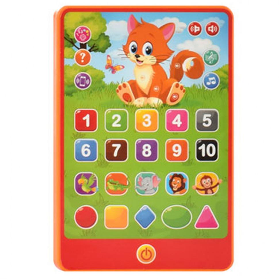 Детский интеракивный планшет SK 0016 на укр. языке (Оранжевый )