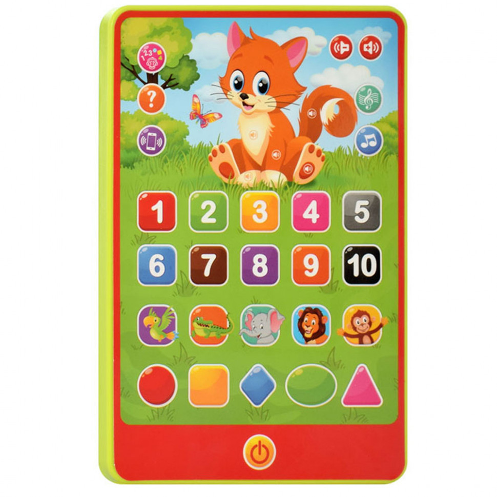 Дитячий интеракивный планшет SK 0016 на укр. мовою (Зелений )