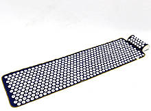 Аплікатор Кузнєцова масажний акупунктурний килимок з подушкою масажер для спини/ніг OSPORT (n-0009)
