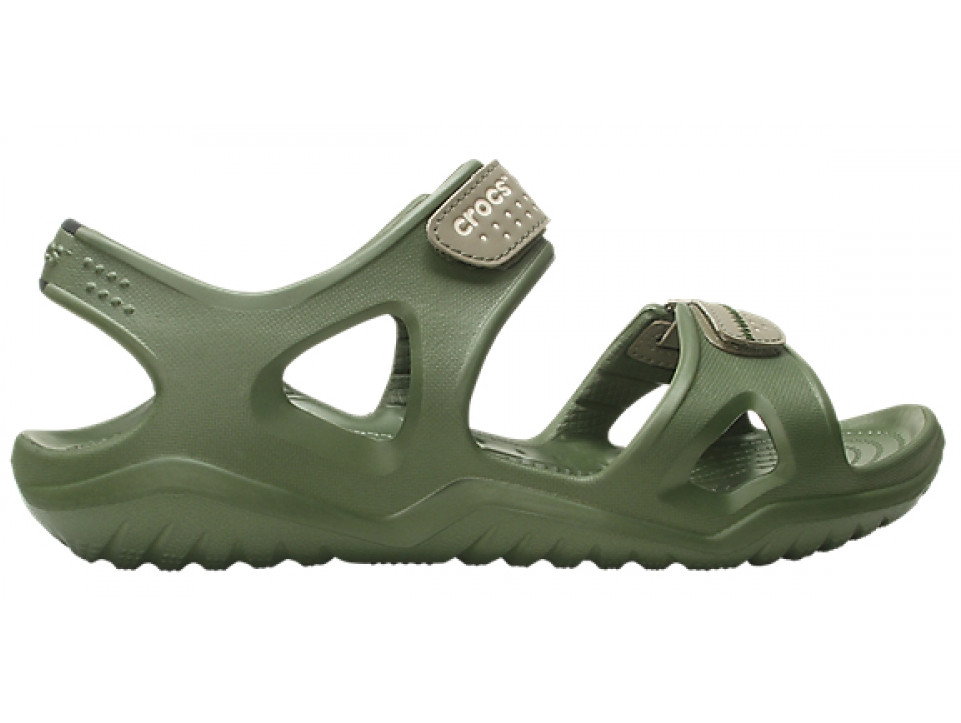 Крокси сабо Чоловічі Swiftwater River Sandal Haki М7 39-40 24,6 см Хакі